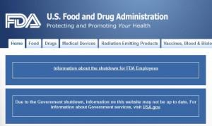FDAshutdown