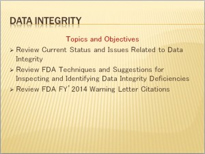 slide-data integrity